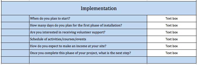 8 Implmentation